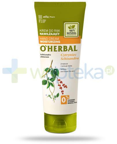 O'Herbal nawilżający krem do rąk z ekstraktem z cytryńca 75 ml Elfa Pharm