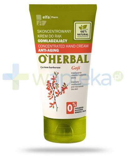 O'Herbal odmładzający skoncentrowany krem do rąk z ekstraktem z goji 50 ml Elfa Pharm