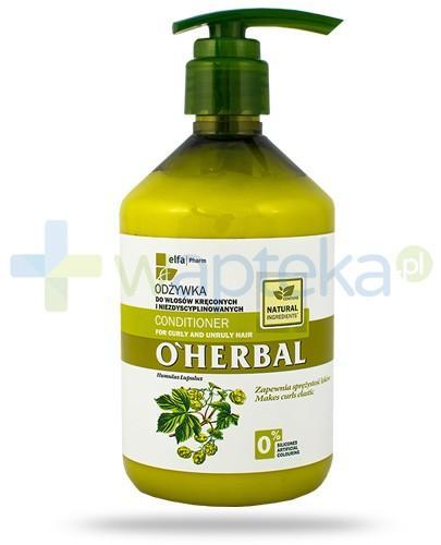 O'Herbal Odżywka do włosów kręconych i niezdyscyplinowanych z ekstraktem z chmielu 500 ml Elfa Pharm