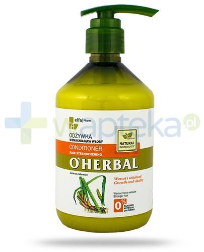 O'Herbal Odżywka wzmacniająca włosy z ekstraktem z korzenia tataraku 500 ml Elfa Pharm