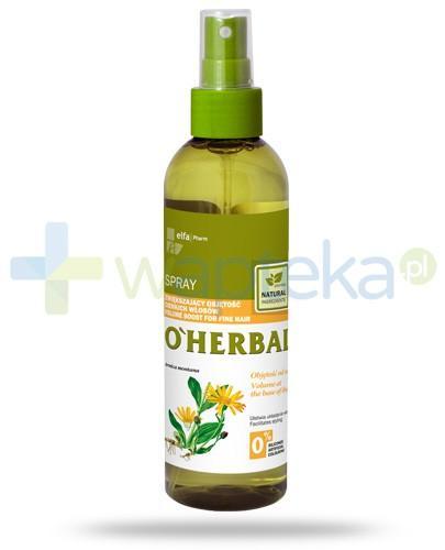 O'Herbal Spray zwiększający objętość cienkich włosów z ekstraktem z arniki 200 ml Elfa Pharm
