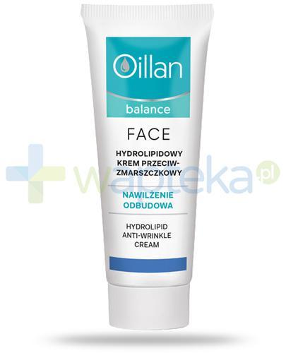 Oillan Balance Face hydrolipidowy krem przeciwzmarszczkowy 50 ml