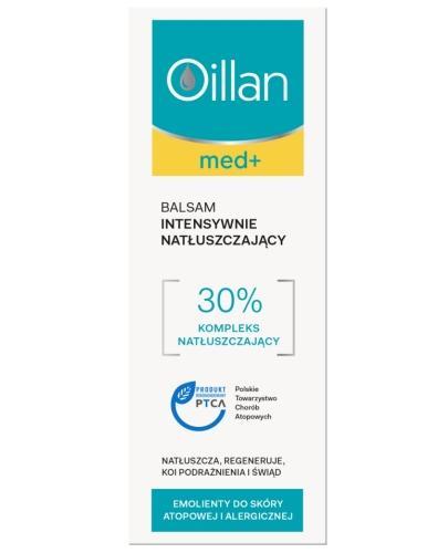 Oillan Med+ balsam intensywnie natłuszczający 200 ml
