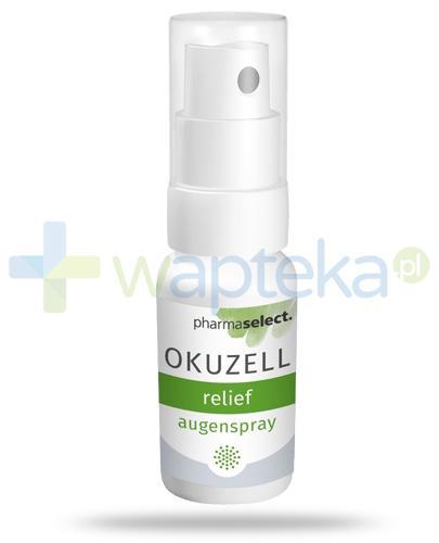 Okuzell Relief spray do oczu z liposmami i świetlikiem 15 ml