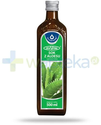 Oleofarm AloeVital sok 500 ml [9155]