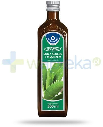 Oleofarm AloeVital sok z miąższem 500 ml [14930]
