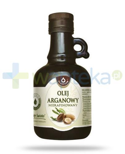 Oleofarm olej arganowy nierafinowany, płyn 250 ml