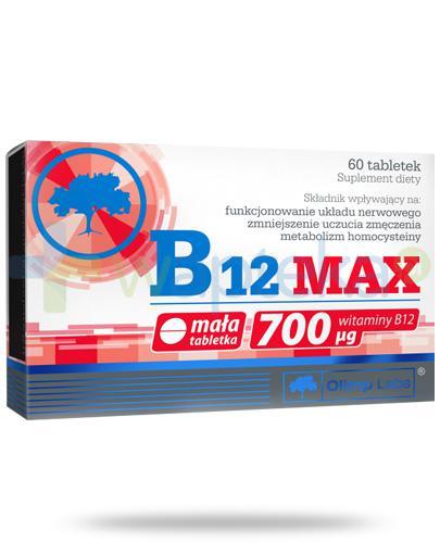 Olimp B12 Max 700μg 60 kapsułek