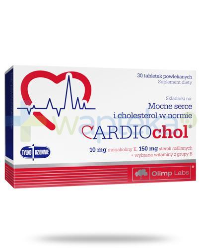 Olimp Cardiochol 30 tabletek