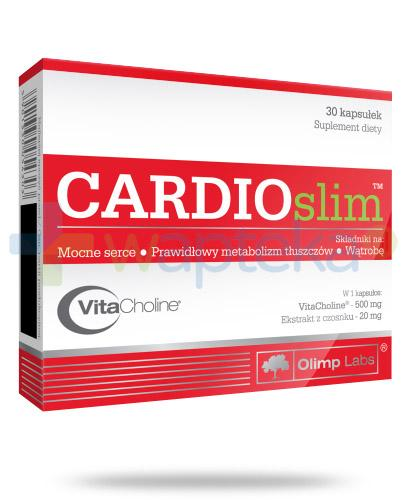Olimp Cardioslim 30 kapsułek [Data ważności 29-03-2019]