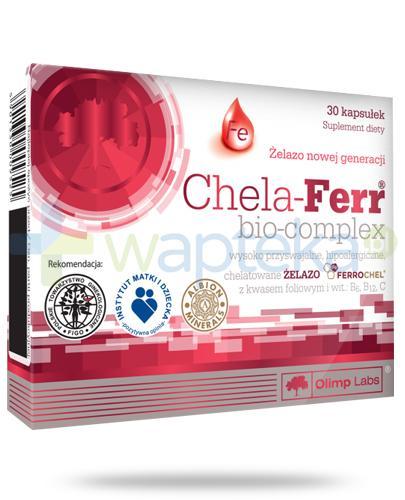 Olimp Chela-Ferr Bio-Complex 30 kapsułek