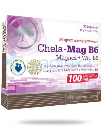 Olimp Chela-Mag B6 30 kapsułek
