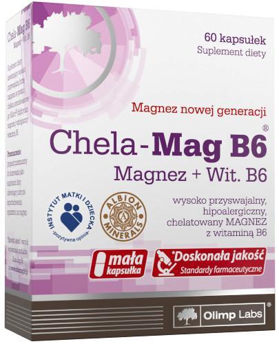 Olimp Chela-Mag B6 60 kapsułek