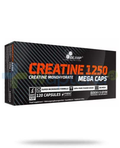 Olimp Creatine Mega Caps 120 kapsułek