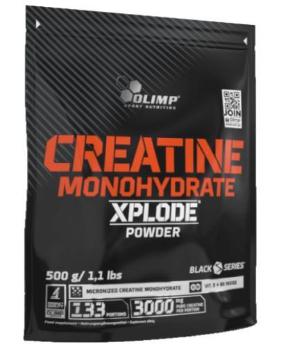 Olimp Creatine Monohydrate Xplode Powder smak pomarańczowy 500 g