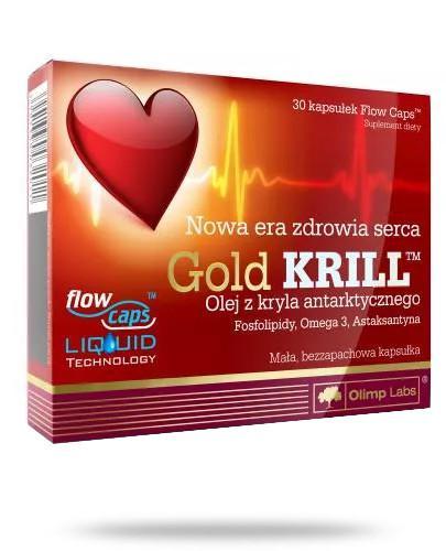 Olimp Gold Krill 30 kapsułek
