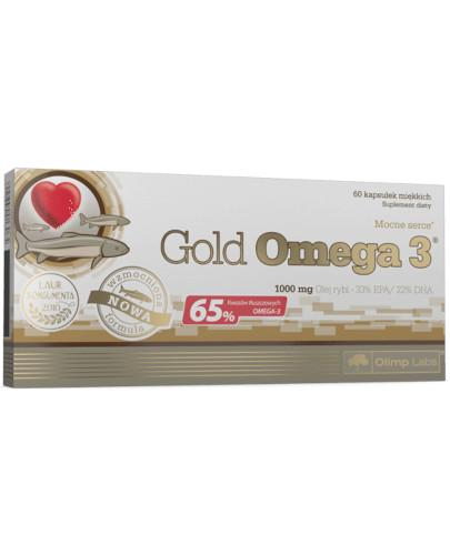 Olimp Gold Omega-3 1000mg 60 kapsułek