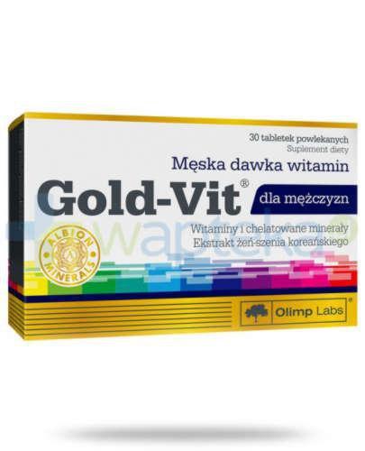 Olimp Gold Vit dla mężczyzn 30 tabletek