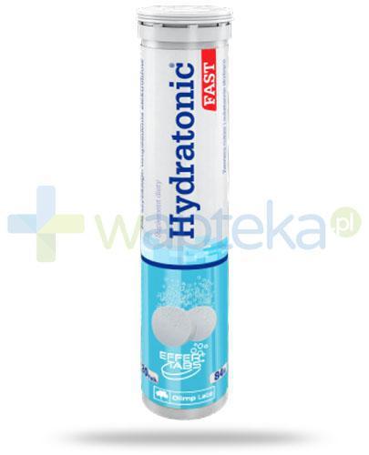 Olimp Hydratonic Fast smak pomarańczowy 20 tabletek musujących