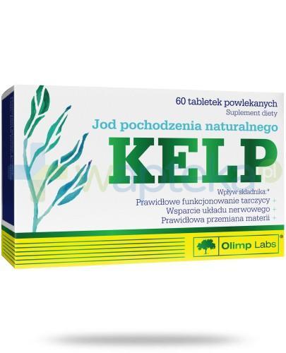 Olimp Kelp jod pochodzenia naturalnego 60 tabletek