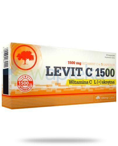 Olimp Levit C 1500 L(+) skrętna 30 kapsułek