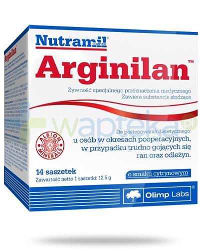 Nutramil Arginilan o smaku cytrynowym 14 saszetek