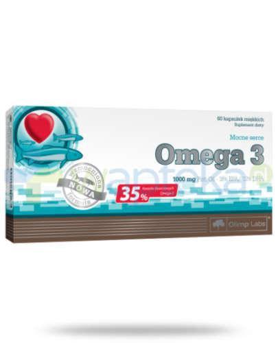 Olimp Omega-3 kapsułki 60 sztuk