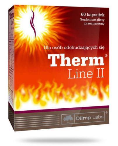 Olimp Therm Line II wspomaga odchudzanie 60 kapsułek - Data ważności 01-04-2017r.