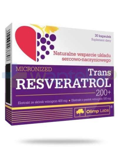 Olimp Trans Resveratrol 200+ 30 kapsułek