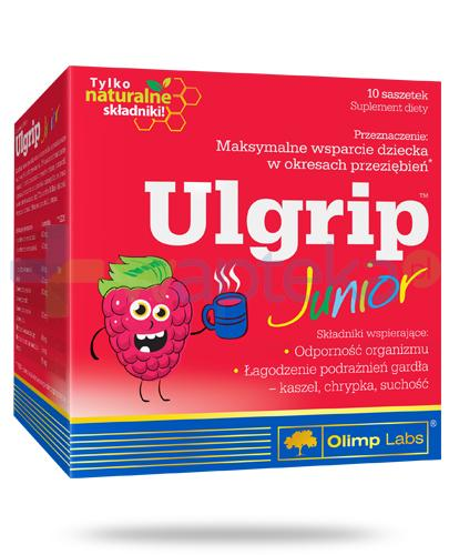 Olimp Ulgrip o smaku malinowym proszek 10 saszetek