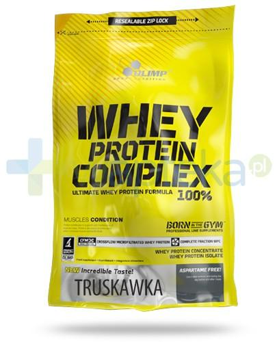 Olimp Whey Protein Complex 100% truskawka 700 g