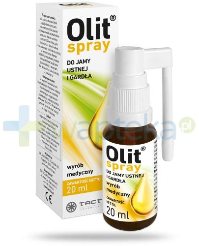 Olit spray do jamy ustnej i gardła 20 ml