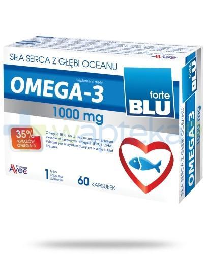 Omega 3 Blu Forte 1000mg 60 kapsułek