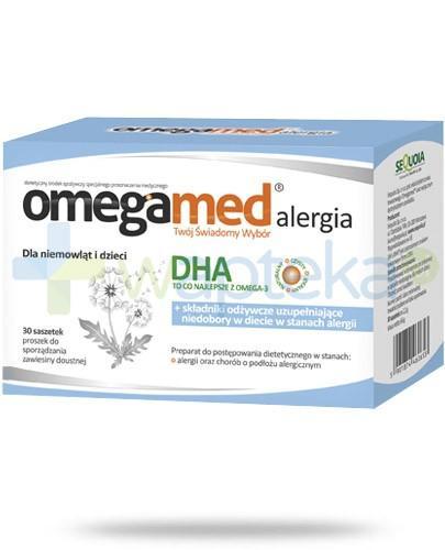 Omegamed Alergia dla niemowląt i dzieci 30 saszetek
