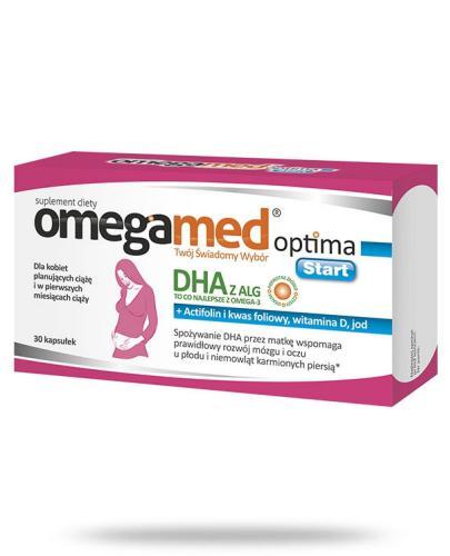 Omegamed Optima Start DHA z ALG dla kobiet planujących ciążę 30 kapsułek