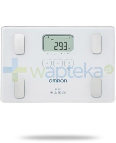 Omron BF 212 waga elektroniczna i analizator składu ciała kolor biały 1 sztuka