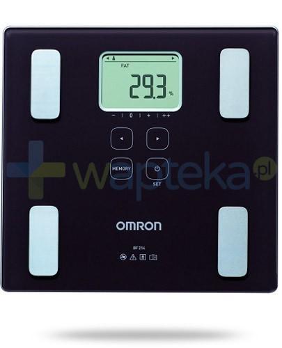 Omron BF 214 waga elektroniczna i analizator składu ciała kolor brązowy 1 sztuka
