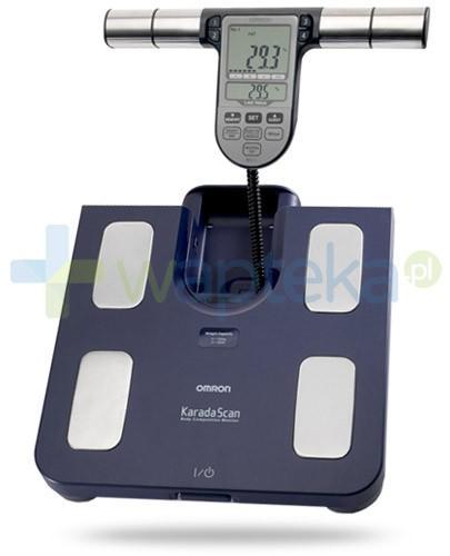 Omron BF 511 waga elektroniczna i analizator składu ciała kolor niebieski 1 sztuka