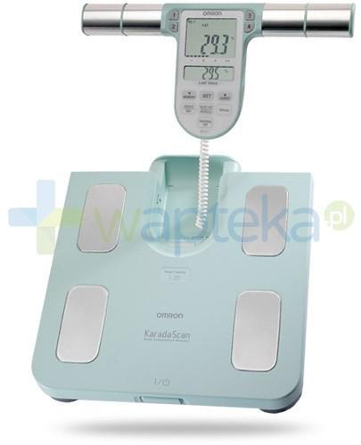 Omron BF 511 waga elektroniczna i analizator składu ciała kolor turkusowy 1 sztuka