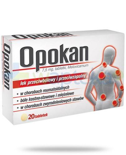 Opokan 7,5mg 20 tabletek