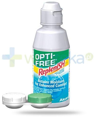 Opti-Free Replenish wielofunkcyjny płyn do soczewek 120 ml