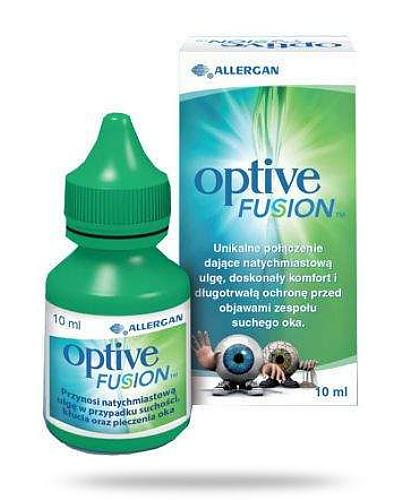 Optive Fusion krople do oczu 10 ml