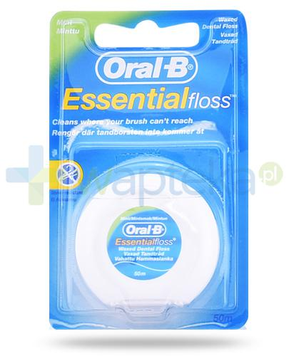 Oral-B Essential Floss Mint nić dentystyczna 50 m
