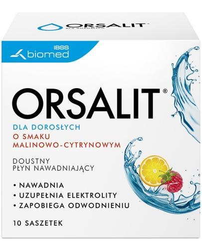 Orsalit dla dorosłych 10 saszetek