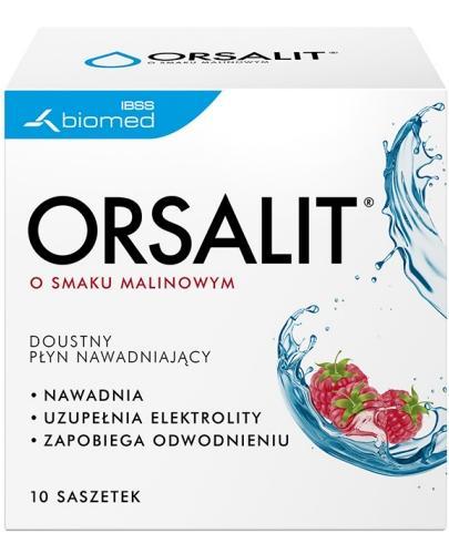 Orsalit smak malinowy 10 saszetek