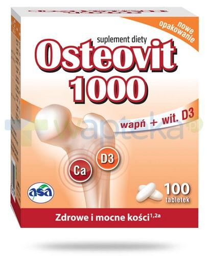 Osteovit 1000 wapń i witamina D 100 tabletek