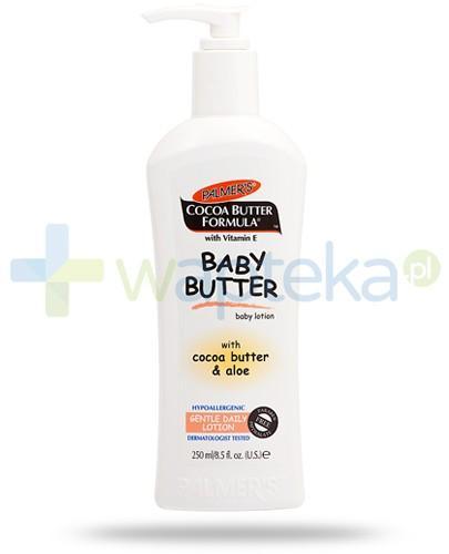 Palmers Cocoa Butter balsam nawilżający do skóry wrażliwej dla dzieci 250 ml