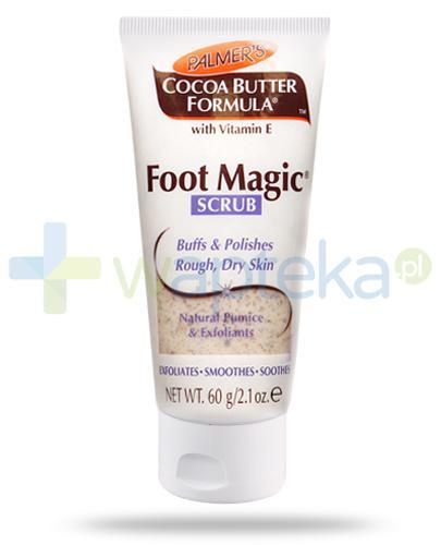 Palmers Cocoa Butter Foot Magic Scrub peeling do stóp 60 g