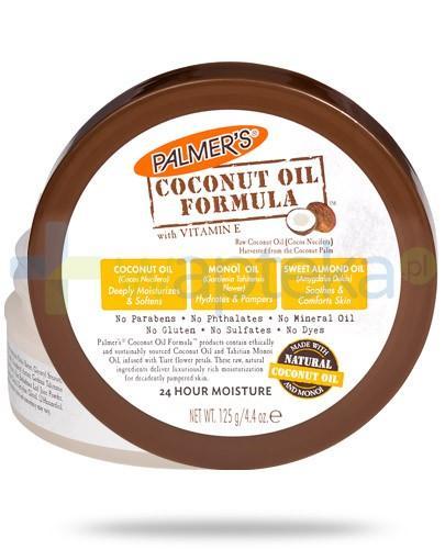 Palmers Coconut Oil masło do ciała z olejkiem kokosowym 125 g
