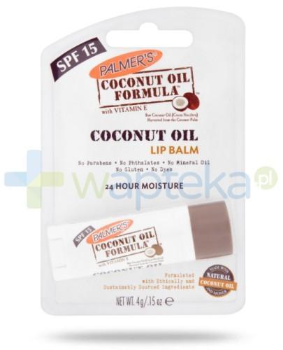 PALMERS COCONUT OIL balsam do ust z olejem kokosowym SPF15 4g
